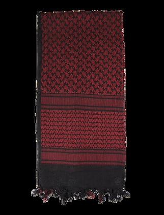 Desert Shemagh -Red/Black