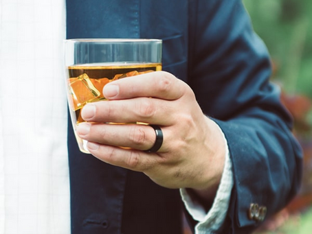 A Glass of Whiskey and a Wedding Band