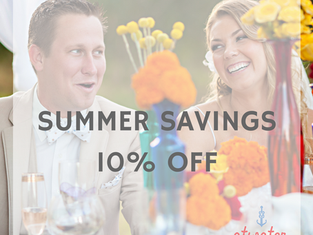 Summer savings through Sept. 1st!