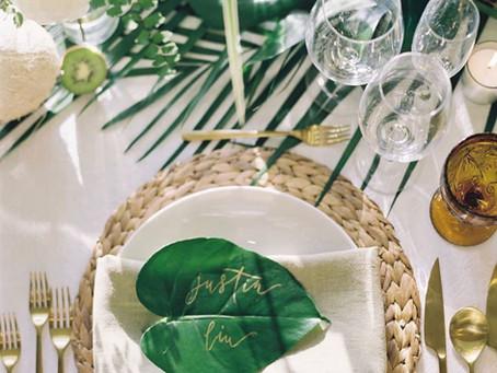 A Green Wedding