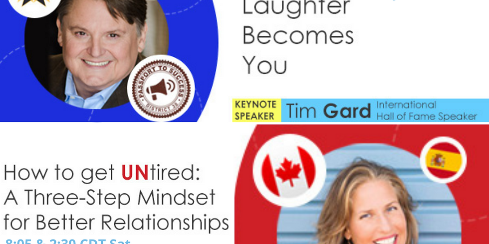 Keynote- How to get UNtired