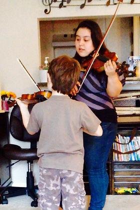 Amanda Hernandez Suzuki Violin Wichita Falls