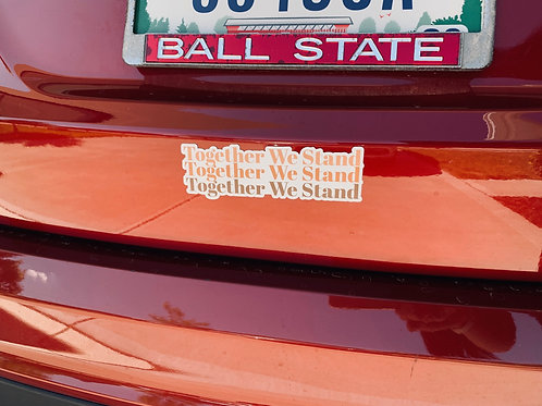 Together We Stand Magnet