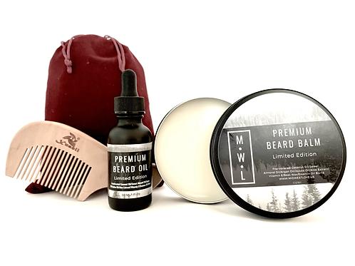 Gift Set: Premium Beard Care Set