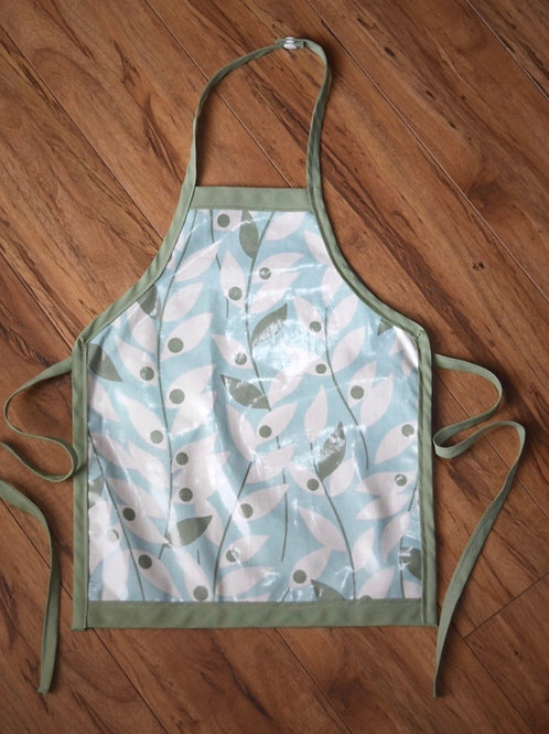 Waterproof/Mess Proof and Wipeable Children's Apron