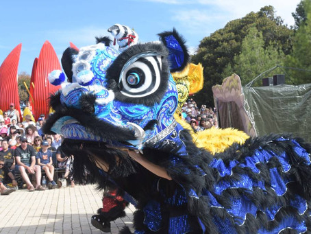[Bendigo Advertiser] Bendigo Easter 2019: Awakening the Dragon event draws a crowd