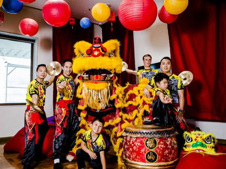 [Canberra Times] Lion dance troupe celebrates Chinese New Year in Canberra
