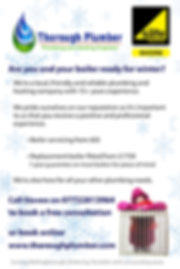 Thorough Plumber Boiler Servicing and Replacemet Boiler Winter Offers