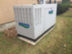 Legacy Mechanical Solutions installs whole-house generators that are ready to operate during any power outage.