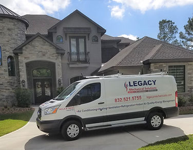 Legacy Mechanical Solutions covers the Houston area.  Check out our service coverage map.