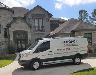Legacy Mechanical Solutions covers Houston and beyond.  Call us for any service, repair or installation needs you have.  We will be there!