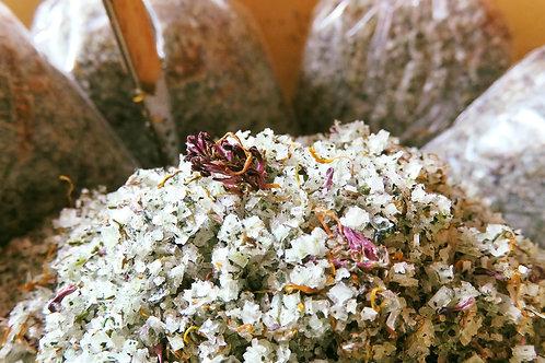 Fleur de Sel de l'ïle de Ré aux 5 plantes.