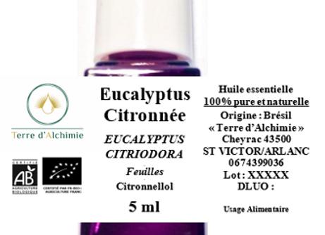 HE Eucalpytus Citronnée