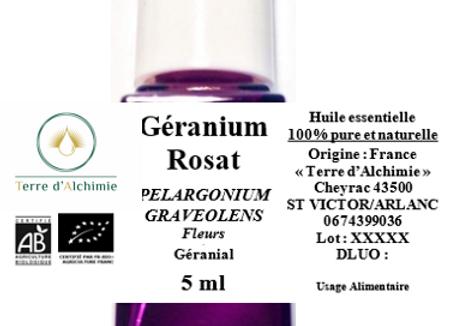 HE Géranium Rosat