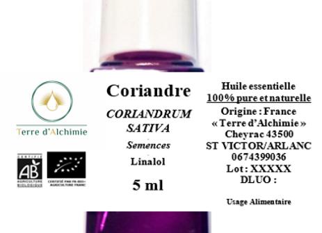 HE Coriandre (Graines)