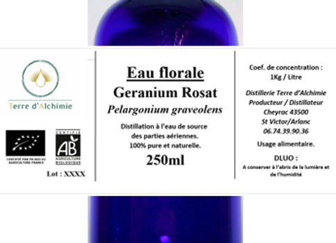 HA Géranium Rosat