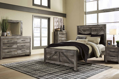 Ashley Wynnlow Crossbuckle Bedroom Suite