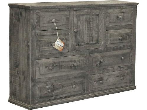 MD Rustic Charcoal Grey Mansion Dresser