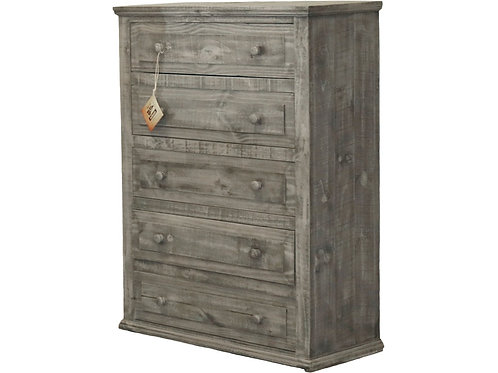 MD Rustic Charcoal Grey Mansion Chest