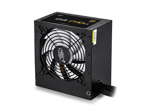 Deepcool DQ750ST 80 PLUS GOLD 750W PSU, FDB, PWM, 10-Year Warranty (Not Fully Mo