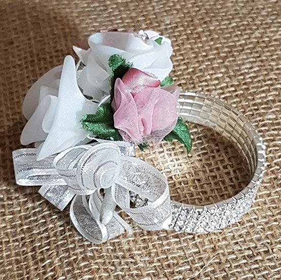Wrist Corsages - silk flowers