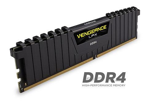 Corsair Vengeance LPX 8GB (1x8GB) DDR4 2400MHz 1.2V C14 14-16-16-31 Black Deskto