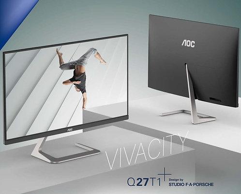"AOC 27"" QHD 2560 x 1440, IPS, Zero Edge"