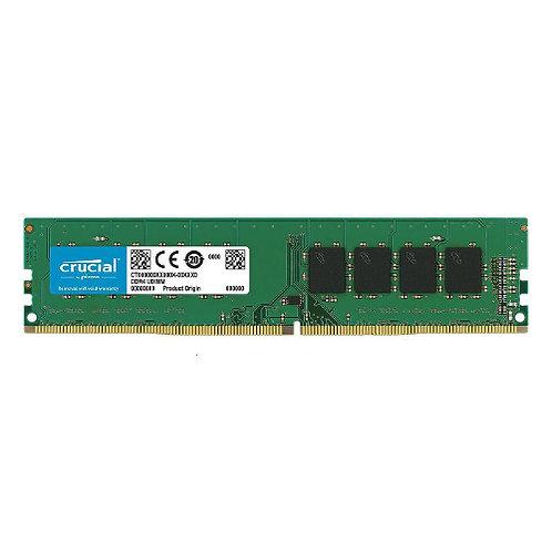 Crucial 8GB DDR4 UDIMM 2400MHz