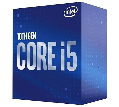 Intel Core i5-10500 CPU 3.1GHz (4.5GHz Turbo) LGA1200 10th Gen 6-Cores 12-Thread