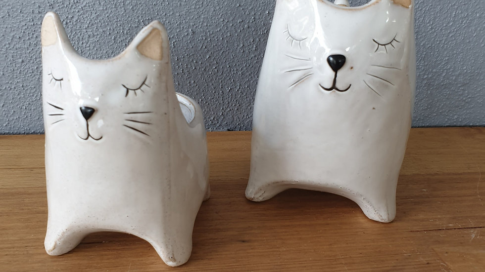 Cat with Tail Planter