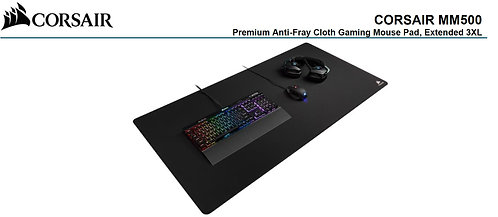 Corsair MM500 Extended 3XL Anti-Fray and Comfort Gaming, 1220mm x 610mm x 3mm GA