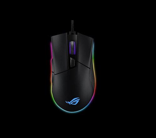 ASUS ROG Gladius II Origin P504 Ergonomic Wired Optical Gaming Mouse Optimized f
