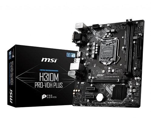 MSI H310M PRO VDH PLUS mATX