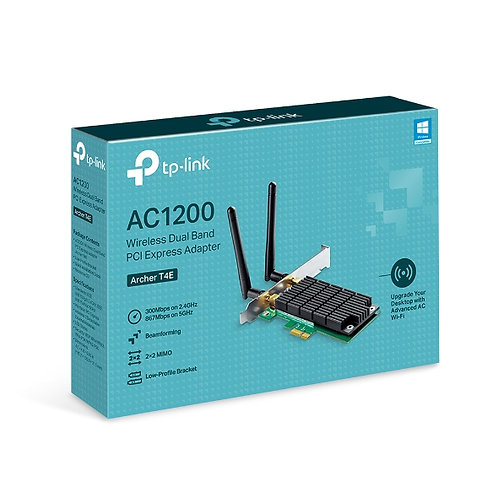 TP-Link Archer T4E AC1200 Wireless Dual Band