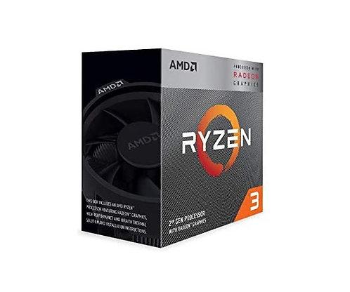 "AMD Ryzen 3 3200G ""TRAY"" 4 Core AM4 CPU, 3.6GHz 4MB 65W No Fan"