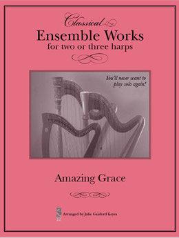 Amazing Grace  - 2 or 3 harps