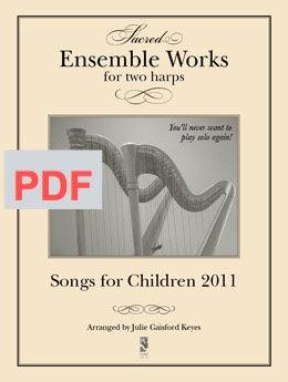 Songs for Children 2011 -  2 harps PDF