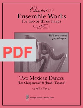Two Mexican Dances - 2 or 3 harps
