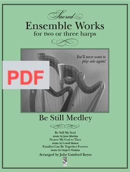 Be Still Medley - 2 or 3 harps PDF