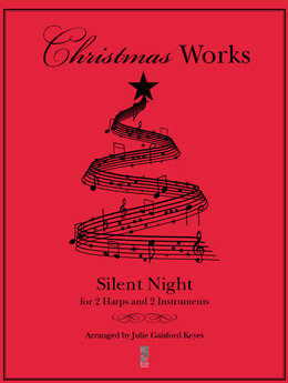 Silent Night - 2 harps and 2 Instruments