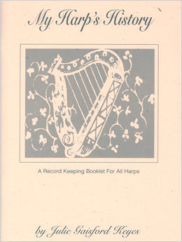 My Harp's History - A Record Keeping Book