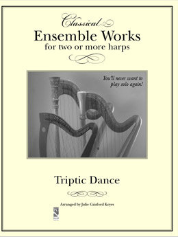 Triptic Dance  - 2 to 5 harps