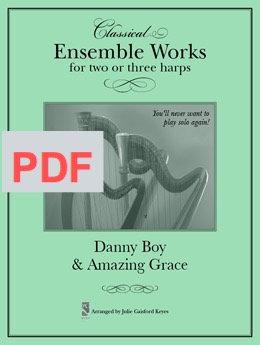 Amazing Grace & Danny Boy - Harp Ensemble