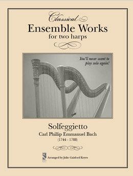 Solfeggietto Bach - 2 harps
