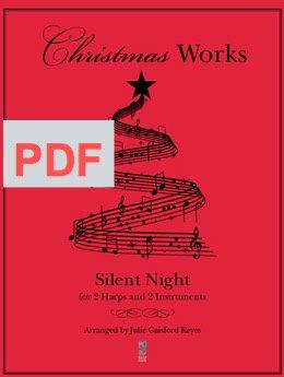 Silent Night - 2 harps,  2 instrument