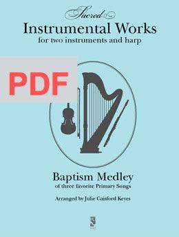 Baptism Medley - harp and 2 instr PDF