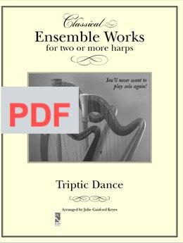 Triptic Dance - multiple harps