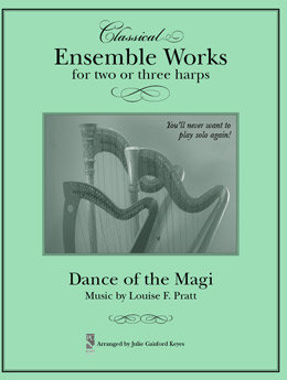 Dance of the Magi - 2 or 3 harps