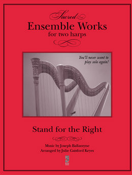 Stand for the Right - 2 harps