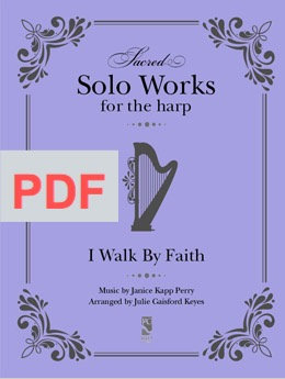 I Walk by Faith - Solo PDF